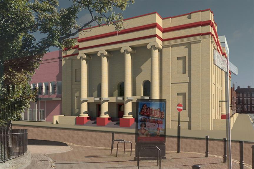 Hull New Theatre: extension approved