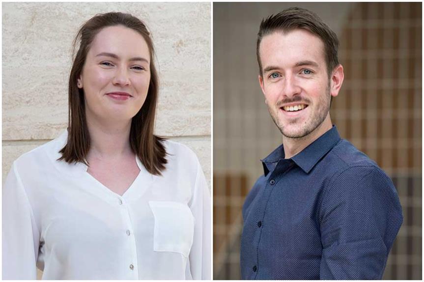Victoria Owen and Matthew Hewitt (Pic: David Locke Associates)