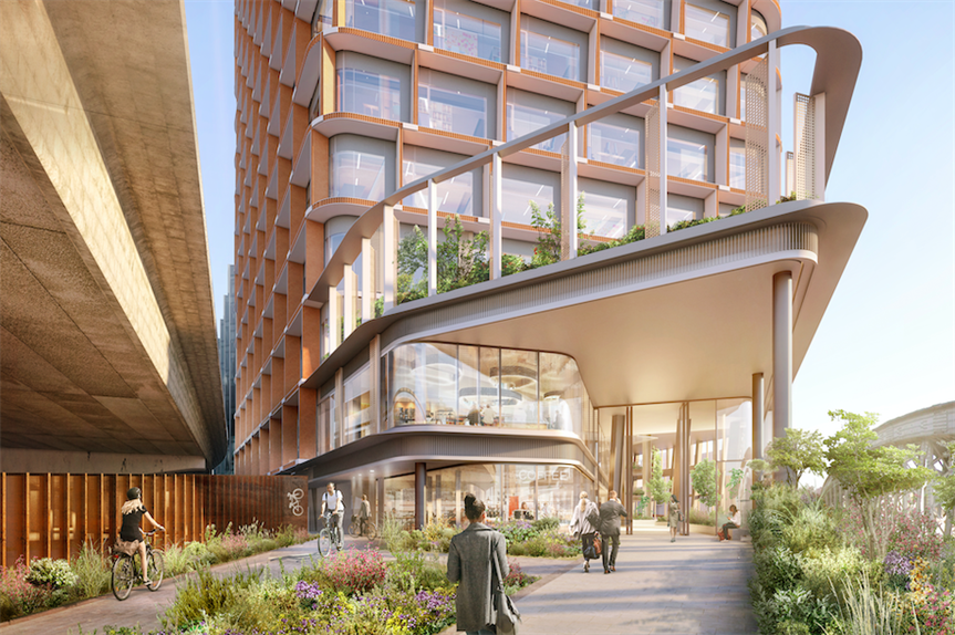 The proposed development (Pic: FTI Consulting)