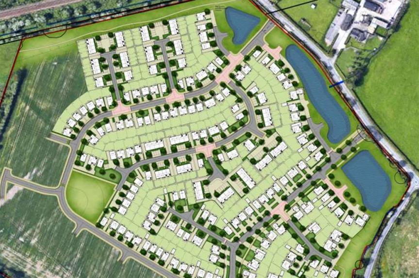 A masterplan visualisation of the development. (pic: Redrow)