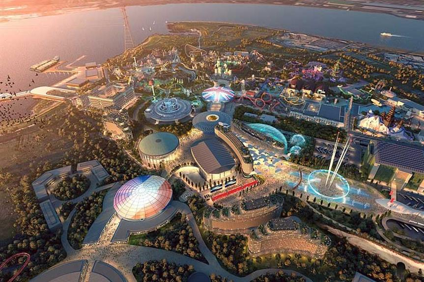 A visualisation of the finished London Resort scheme (pic: London Resort Company Holdings)