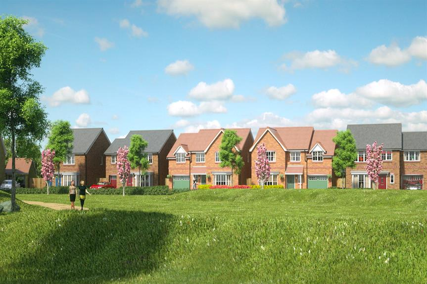 The proposed scheme at Poverty Lane (Pic: Countryside Properties (UK) and Persimmon Homes)