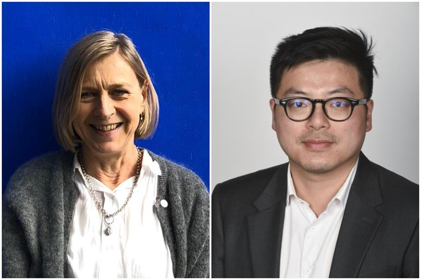 Margaret Baddeley and Michael Chang (Pic: Design Council)