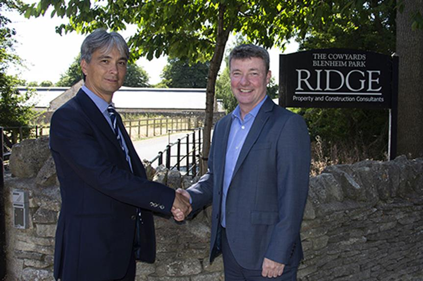 Left-right: Paul Fong (former MD of HPP and now equity partner of Ridge) and Adrian O'Hickey (senior partner of Ridge)