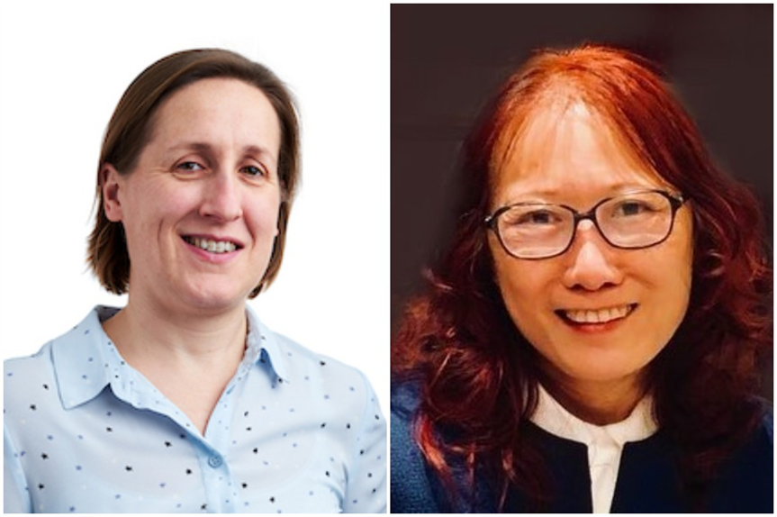 Penny Moss (left) (Pic: Planning Potential) and Annie Pang (Pic: Adrian Salt and Pang Ltd)