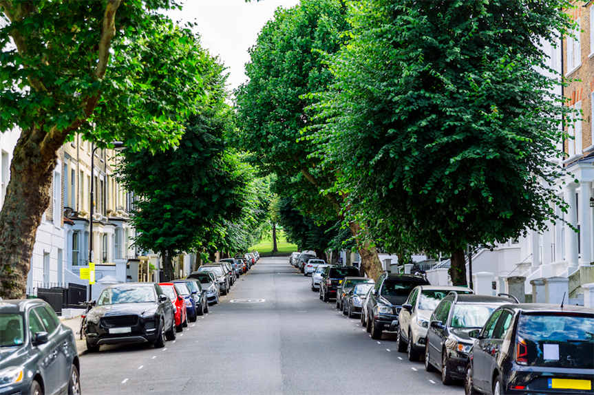 Individual streets could produce their own neighbourhood plans under planning white paper proposals. Pic: Getty Images