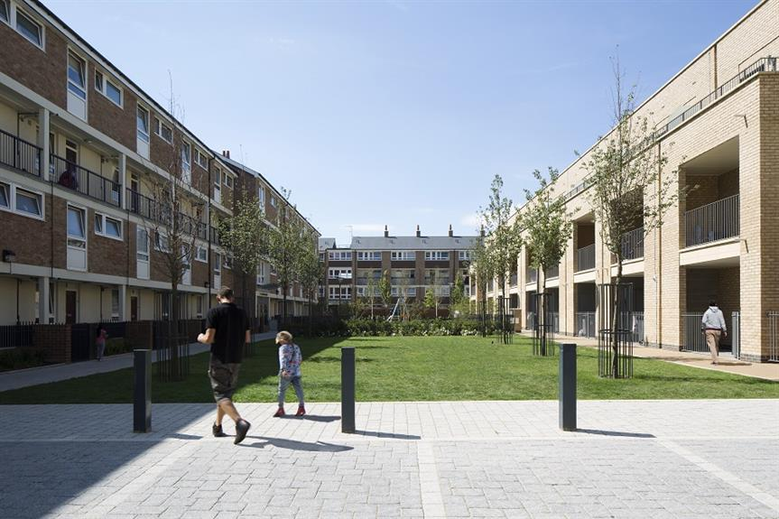 New housing in London. Image: Getty