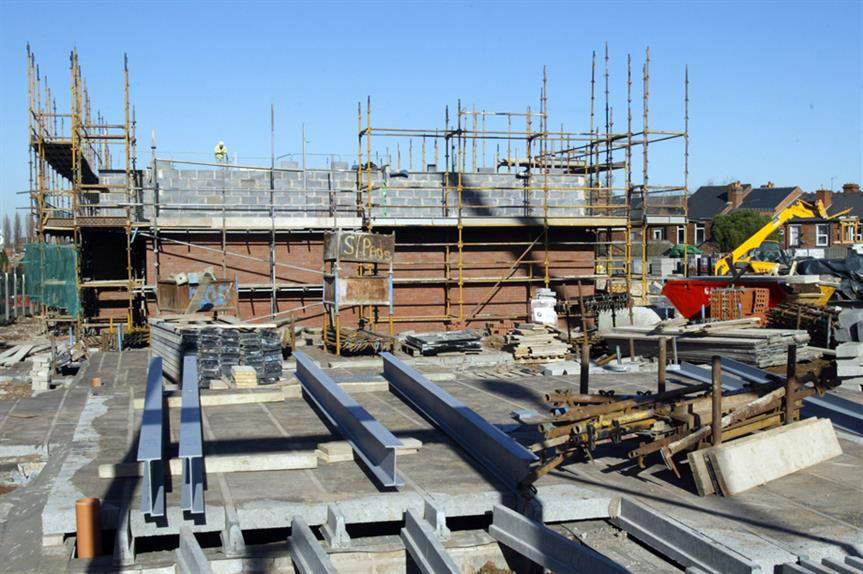 New homes: supply slowed last year