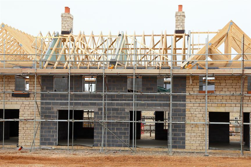 Construction of new home (Pic: Getty)