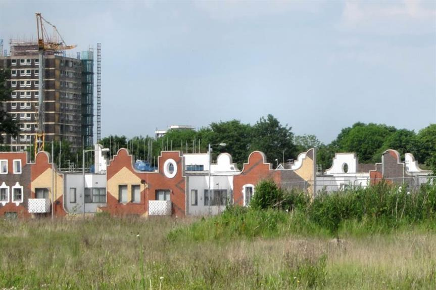 Brownfield regeneration: a minimum of 976,000 homes could be built on brownfield, report says (picture: Alan Stanton)
