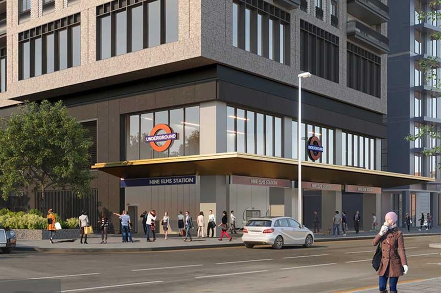A visualisation of the finished scheme. Image: Connected Living London (Nine Elms) Ltd