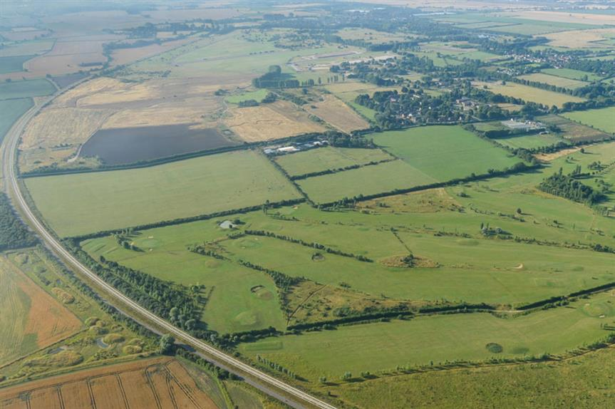 Northstowe: site covers former RAF Oakington Barracks and surrounding land between Cambridge and St Ives