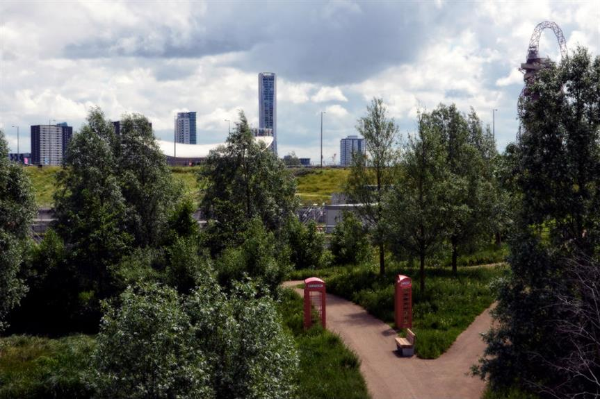 Olympic Park: part of wider Lea Valley regeneration