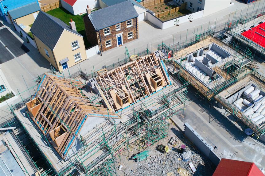 New housing development (Pic: Getty)