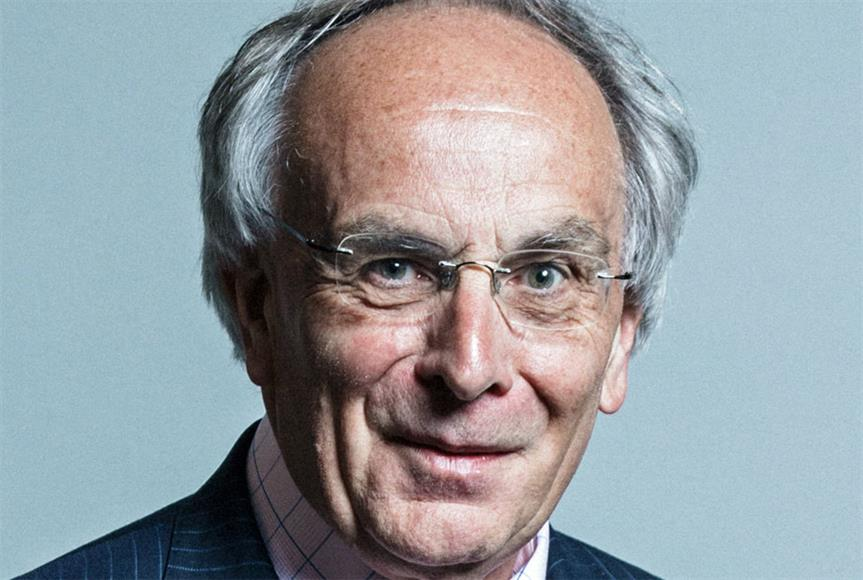 MP Peter Bone: opposed the plastic recycling plant
