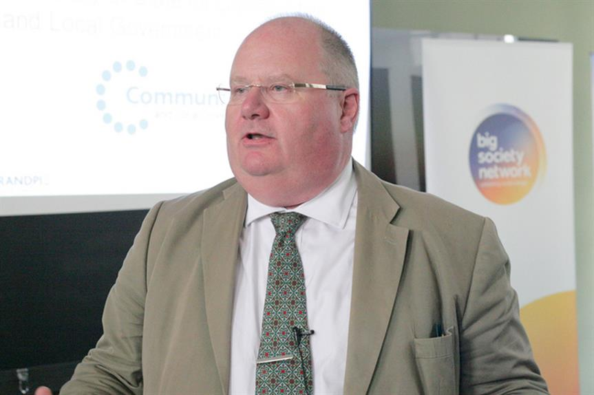 Communities secretary Eric Pickles