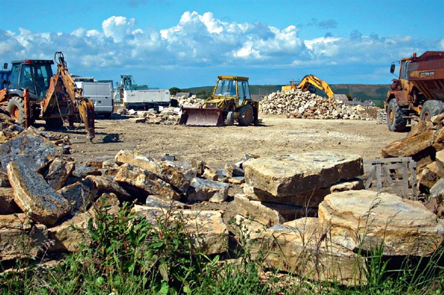 Quarrying: south wales scheme approved