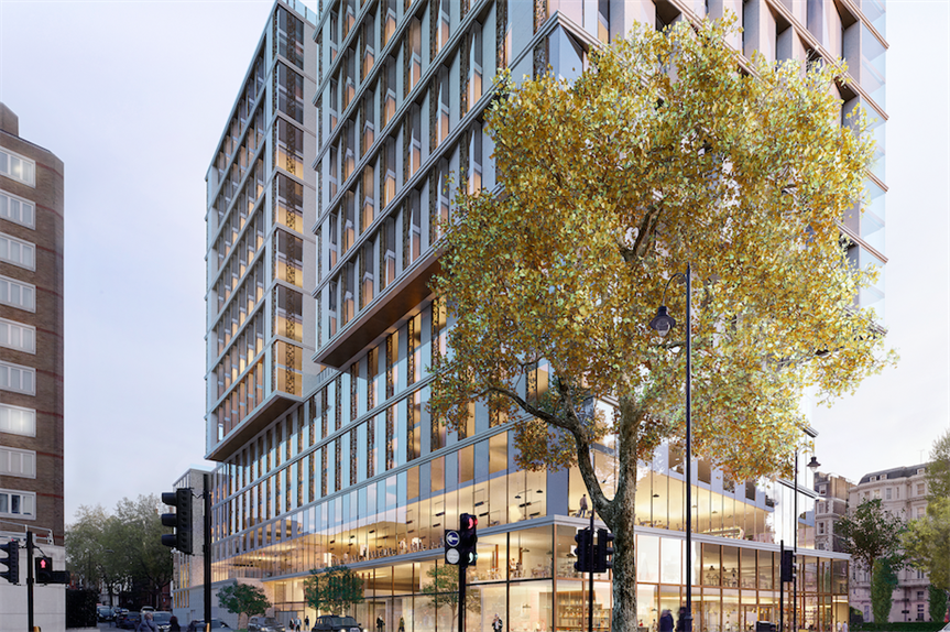 A visualisation of the finished scheme (Pic: Queensgate Investments)