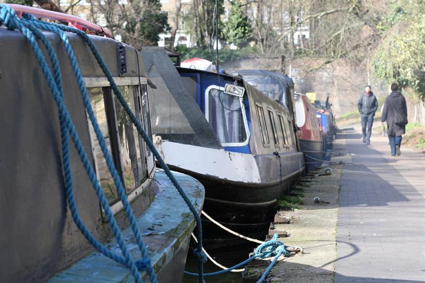 Regents Canal: 'hotspot'