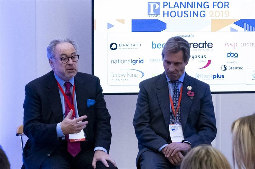 John Rigg, deputy lead for sustainable transport, transformation, regeneration and economic development at Guildford Borough Council (left) and Peter Lundgren, the opposition deputy leader at North Kesteven District Council