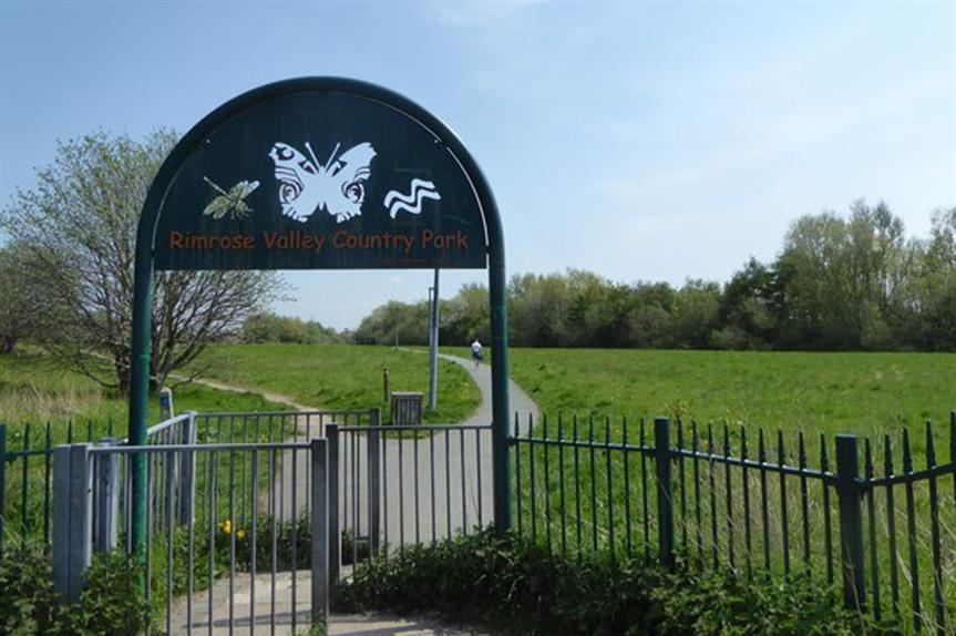 Rimrose Valley Park: new road planned