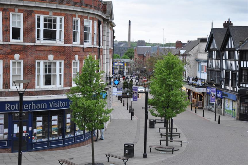 Rotherham: council concerned by town centre impact (pic courtesy Ben Sutherland via Flickr)