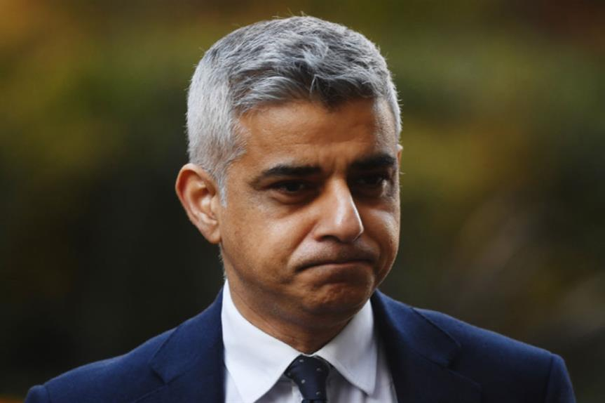 London mayor Sadiq Khan (Getty)
