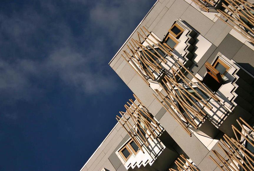 The Scottish Parliament in Edinburgh. Pic: Tom Parnell, Flickr