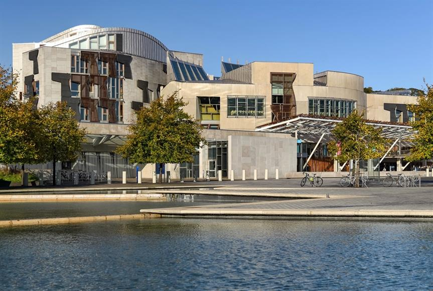 Scottish Parliament in Edinburgh. Pic: Jorge Franganillo, Flickr