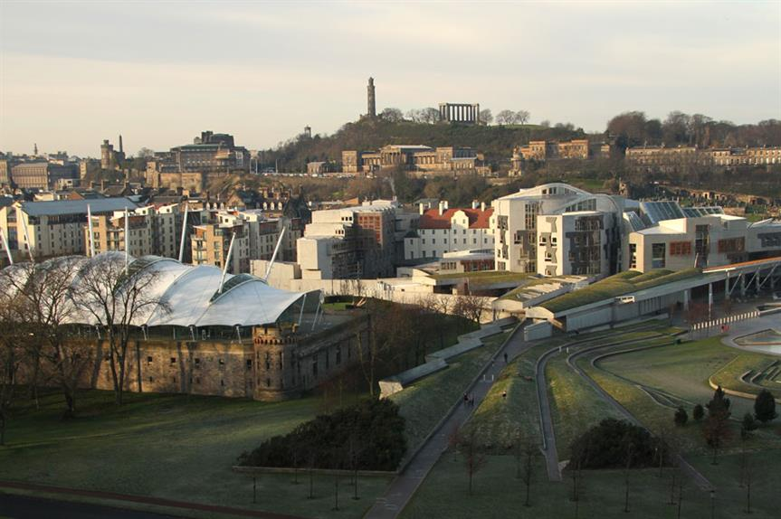 Scottish Parliament: body backed fracking ban earlier this week