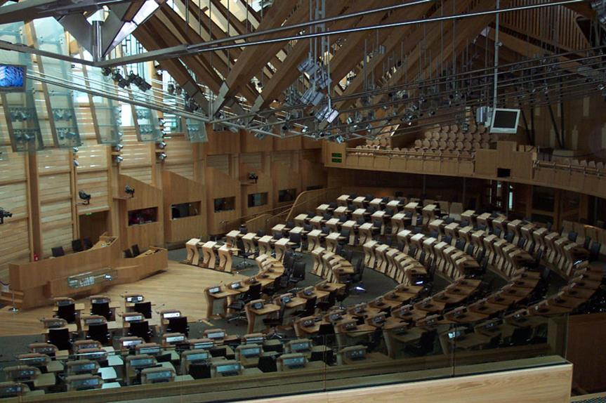 Scottish Parliament: body will be given vote issue