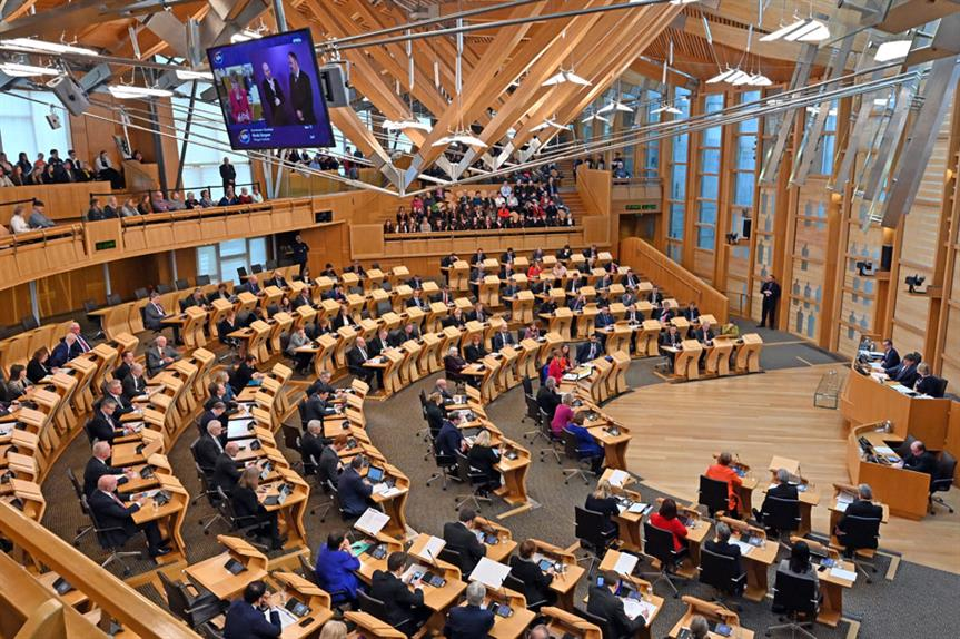 The Scottish Parliament (pic: Getty)