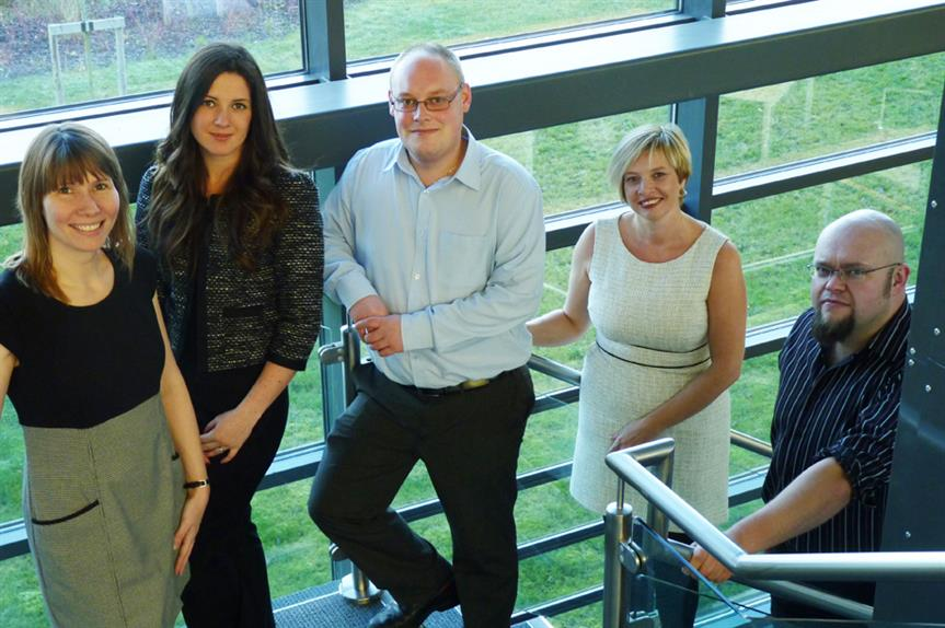 Selby's planning policy team: Helen Gregory, Jessica Dewar, Ryan King, Diane Wilson and Andy McMillan