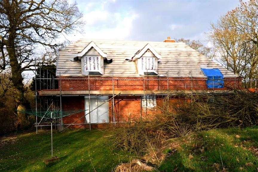 A self-build property in Suffolk - image: Martin Pettitt (CC BY 2.0)