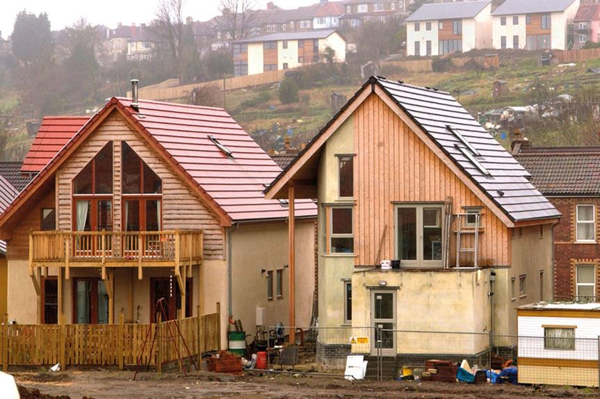 A self build housing scheme