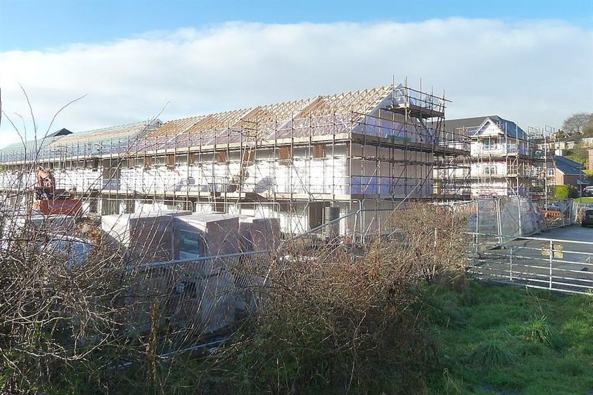 Social housing being built - image: Penny Mayes / geograph.org.uk (CC BY-SA 2.0)