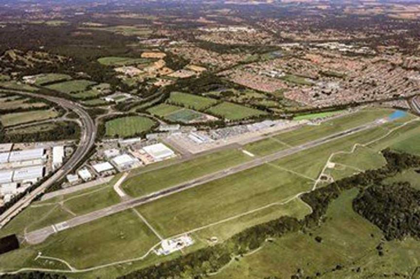A visualisation of the extended runway (pic: AGS Airports)