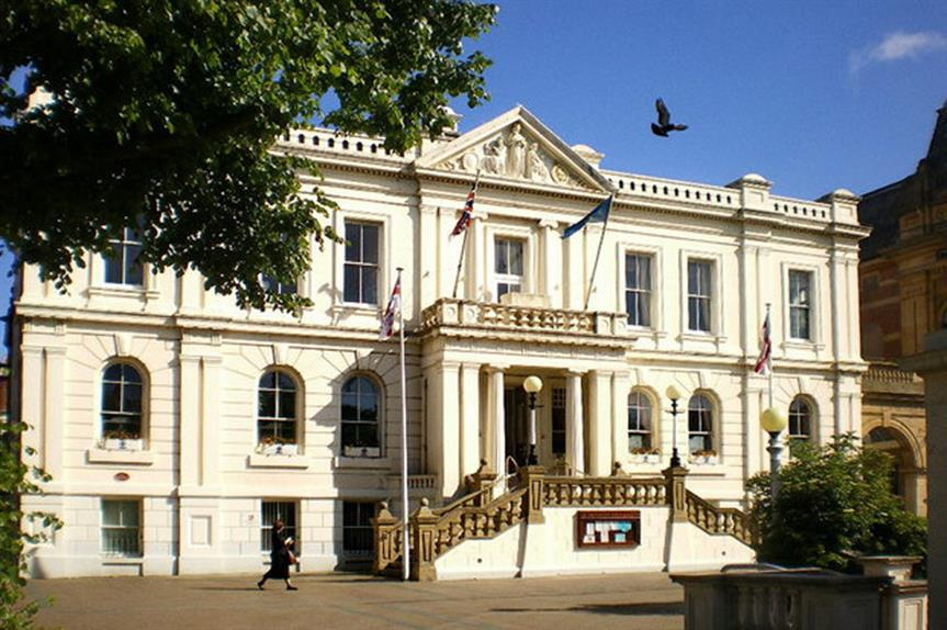 Southport Town Hall in Sefton district (pic: Alexander P Kapp, Geograph)