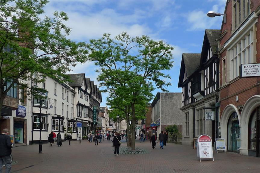 Stafford: road intended to ease congestion in town centre