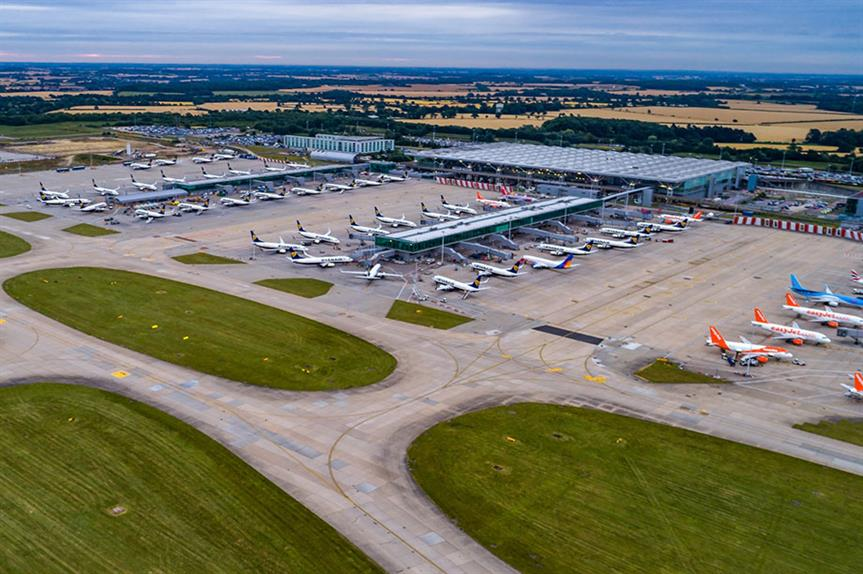 Stansted Airport: intends to submit a planning application in early 2018