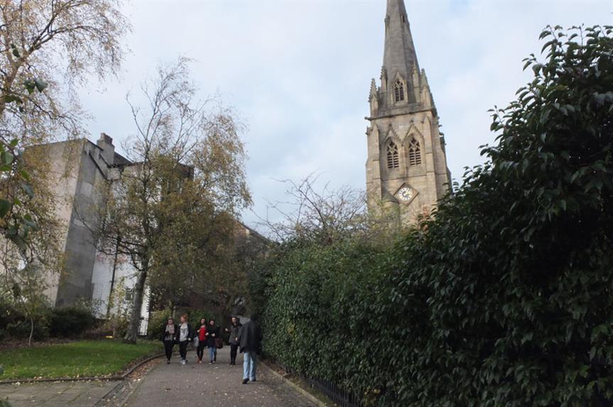 Stoneygate, Preston (pic: Barbara Carr, Geograph)