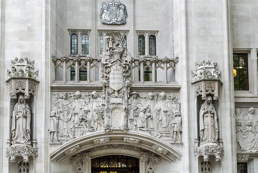 Supreme Court in Westminster, London. Image by alh1, Flickr