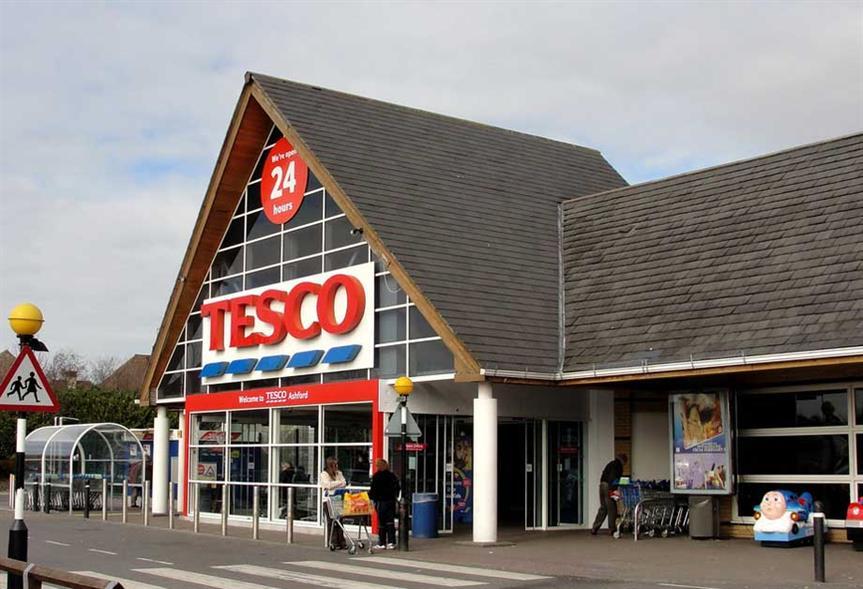 Tesco: retailer cutting back on store openings