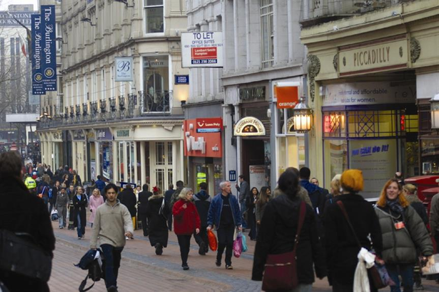 High streets: government proposals intended to boost flagging town centres