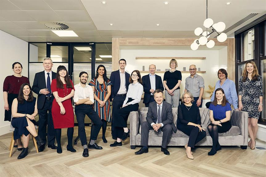The Town Legal team: the firm launched slightly more than two years ago, and this year becomes the highest-rated law firm
