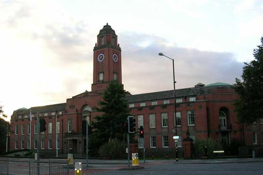 Trafford town hall (pic: © Keith Williamson (cc-by-sa/2.0))