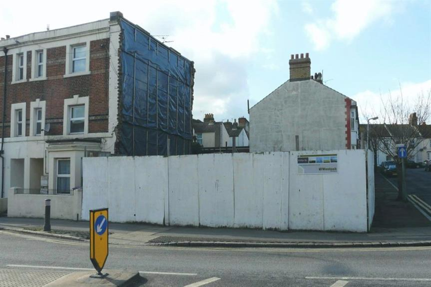 An unbuilt housing plot - image: John Baker / geograph (CC BY-SA 2.0)