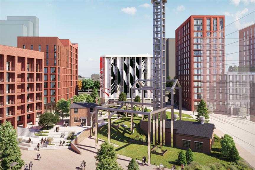 A visualisation of the proposals. (Pic: Corstorphine + Wright Architects)