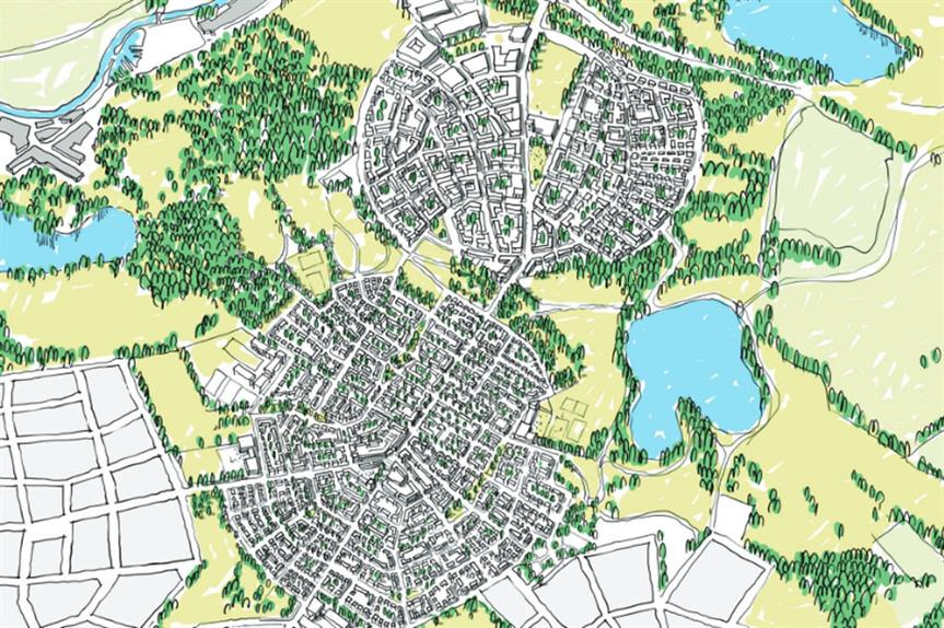 Uxcester: plan would focus on urban extensions
