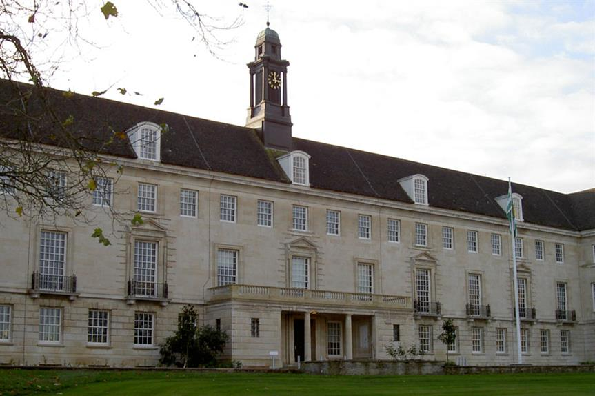 County Hall, Wiltshire (pic: Neil Owen, Geograph)